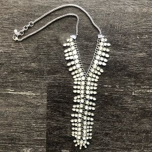 Lucky Brand statement Y necklace